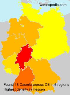 Surname Caserta in Germany