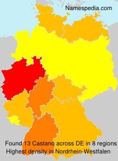 Familiennamen Castano - Germany