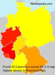 Familiennamen Castronovo - Germany