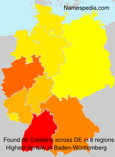 Surname Catalano in Germany