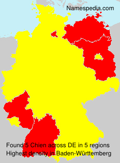 Surname Chien in Germany