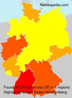 Familiennamen Chiriac - Germany