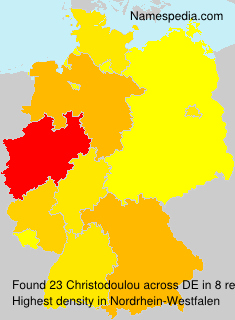 Surname Christodoulou in Germany