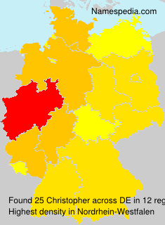 Surname Christopher in Germany