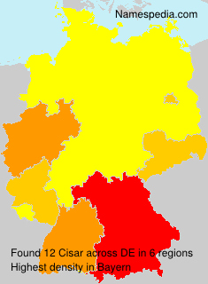 Surname Cisar in Germany