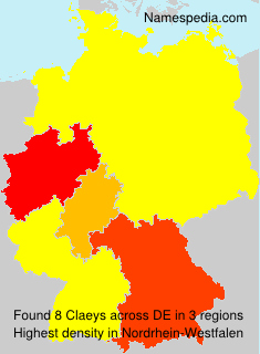 Claeys - Germany