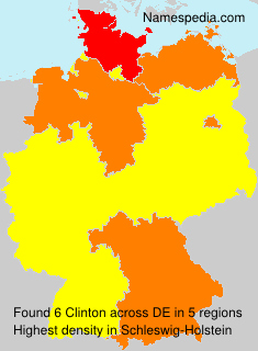 Familiennamen Clinton - Germany