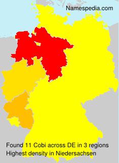 Surname Cobi in Germany