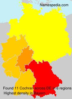 Familiennamen Cochran - Germany