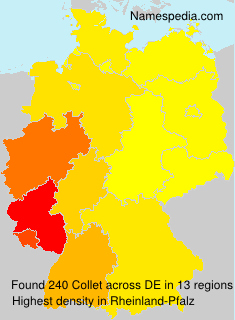 Surname Collet in Germany