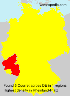 Surname Courret in Germany