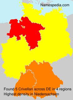 Familiennamen Crivellari - Germany