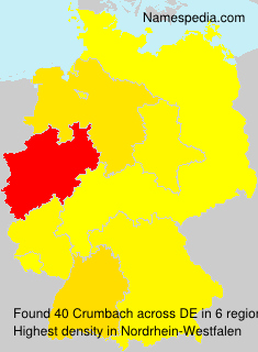 Surname Crumbach in Germany