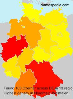 Familiennamen Czerner - Germany