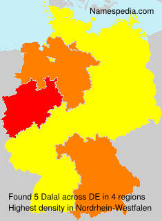 Surname Dalal in Germany