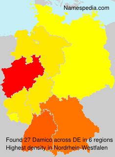 Familiennamen Damico - Germany