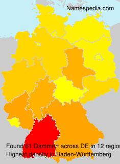 Surname Dammert in Germany