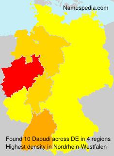 Familiennamen Daoudi - Germany