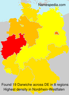 Surname Darwiche in Germany