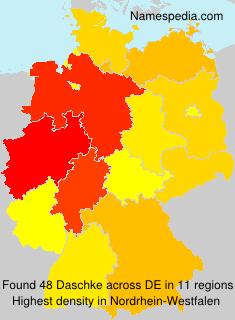 Familiennamen Daschke - Germany