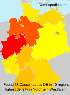 Surname Dassel in Germany