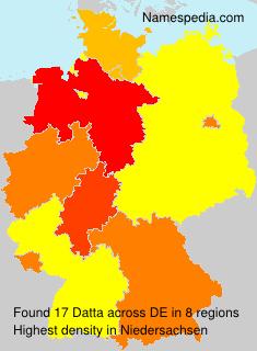 Surname Datta in Germany
