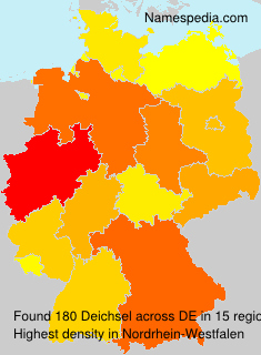 Surname Deichsel in Germany