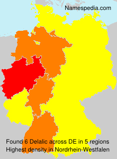 Surname Delalic in Germany