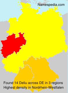 Surname Deliu in Germany