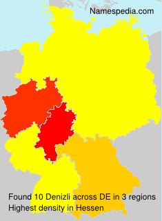 Surname Denizli in Germany