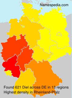 Surname Diel in Germany