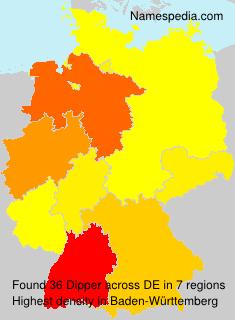 Surname Dipper in Germany