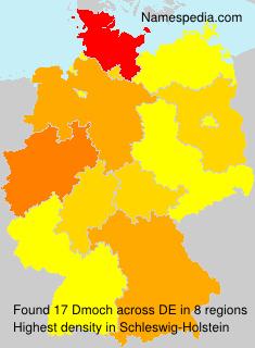 Familiennamen Dmoch - Germany