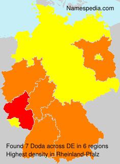 Surname Doda in Germany