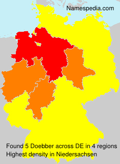 Surname Doebber in Germany