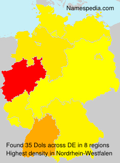 Surname Dols in Germany