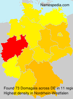 Surname Domagala in Germany