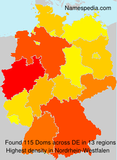 Surname Doms in Germany