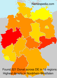 Surname Donat in Germany