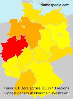 Familiennamen Dora - Germany
