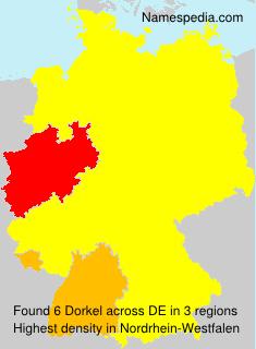 Familiennamen Dorkel - Germany