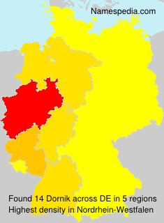 Surname Dornik in Germany