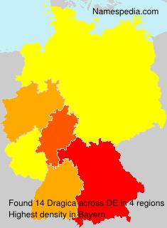 Familiennamen Dragica - Germany