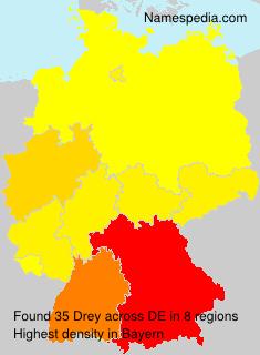 Surname Drey in Germany