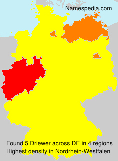 Surname Driewer in Germany