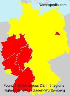 Surname Driton in Germany