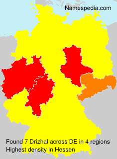 Surname Drizhal in Germany
