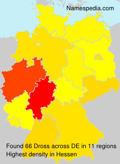 Surname Dross in Germany
