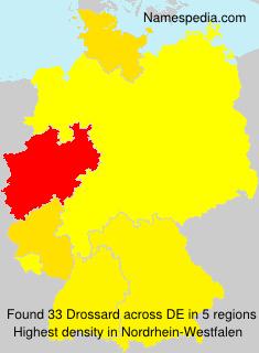 Familiennamen Drossard - Germany