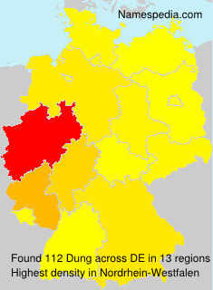 Surname Dung in Germany